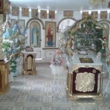 Рождество 2016 Свято-Елисаветинский монастырь Запорожская область, Ореховский район, пгт Камышева