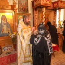 на богослужении Свято-Елисаветинский монастырь Запорожская область, Ореховский район, пгт Камышева